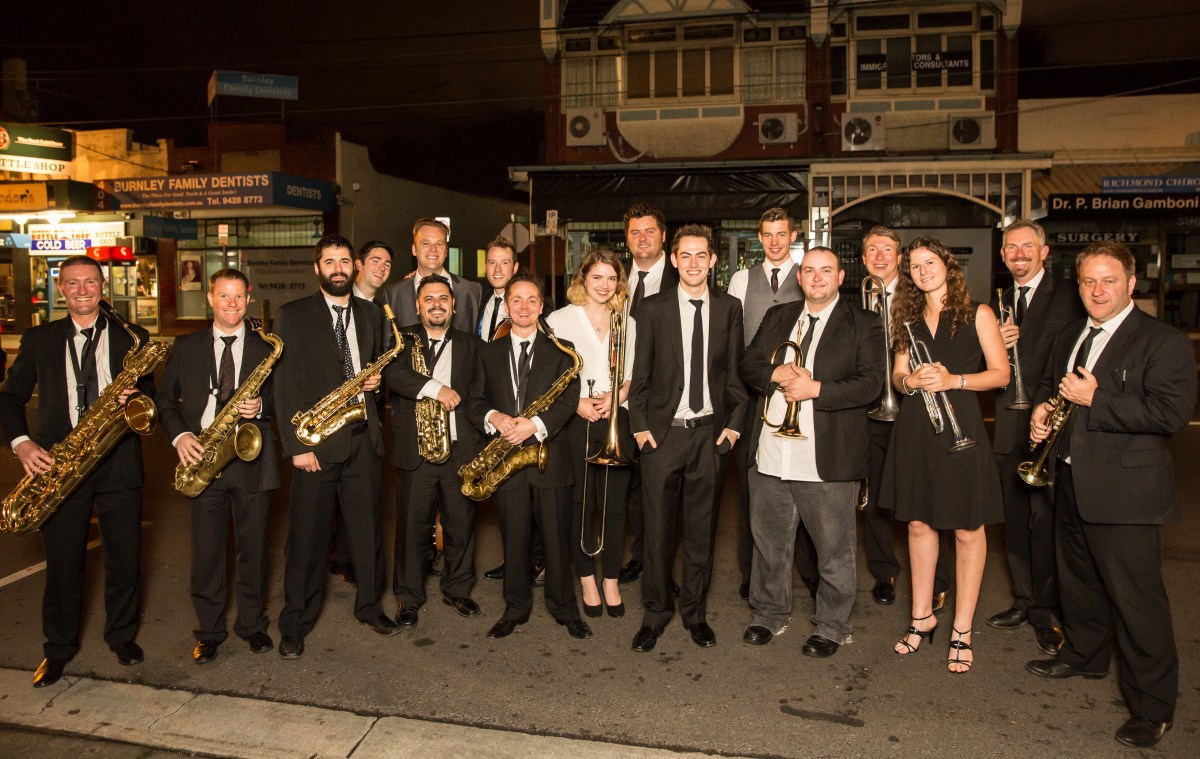 Jack Earle Big Band - be part of their first disc