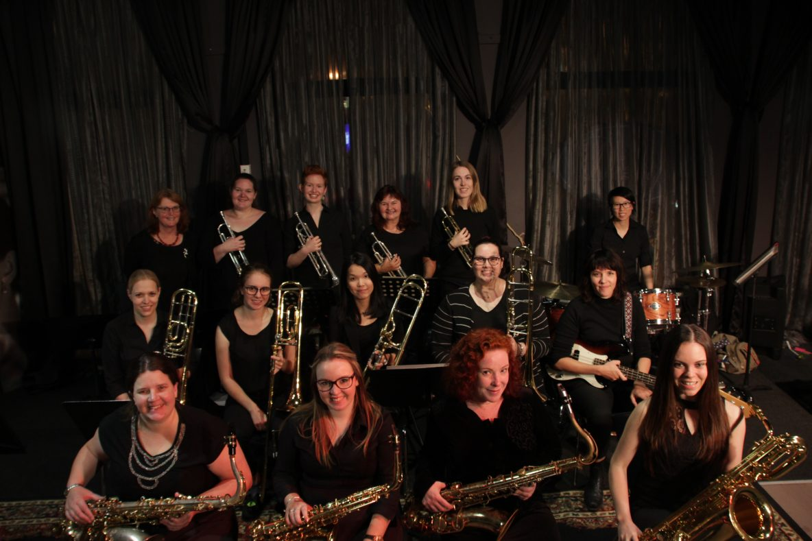 Introducing the Melba Women's Big Band