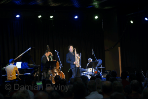 Julien Wilson Quartet at Wangaratta Festival of Jazz and Blues 2013   image by Damian Diviny