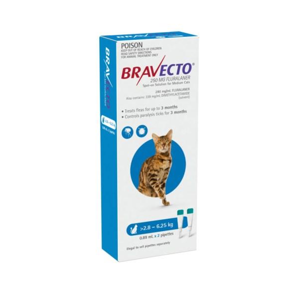 Bravecto Spot-on Medium Cat