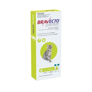 Bravecto Spot-on Small Cat