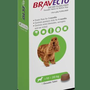 Bravecto Chew 10-20kg