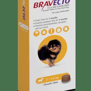 Bravecto Chew 2-4.5kg