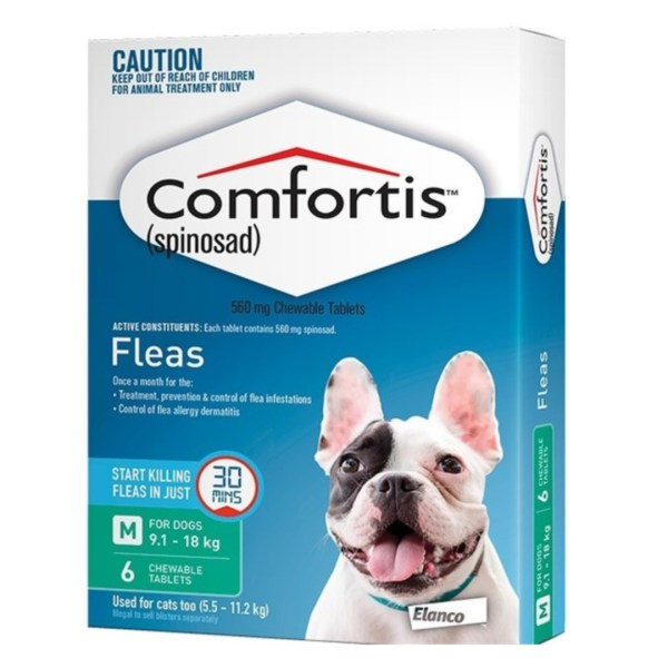 Comfortis Medium Dog 6 Pack
