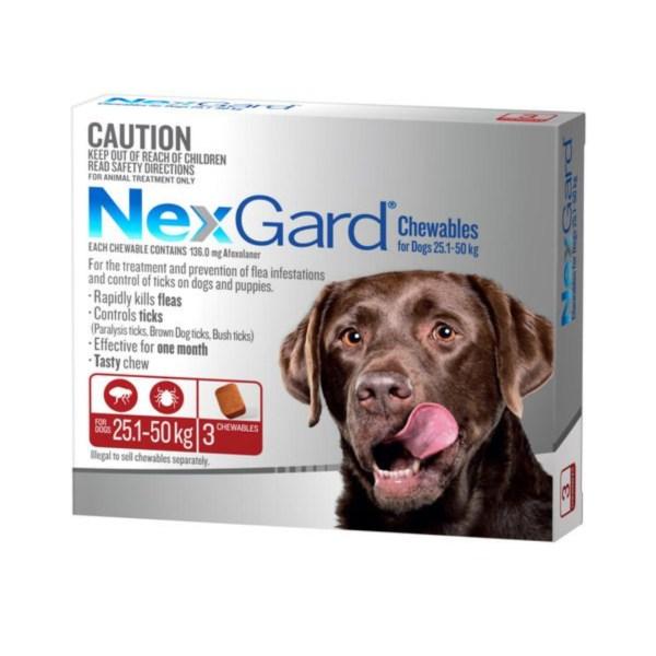 Nexgard Extra Large Dog 3 Pk