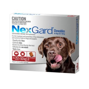 Nexgard Extra Large Dog 3 Pk