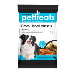 Green Lipped Mussels 50g