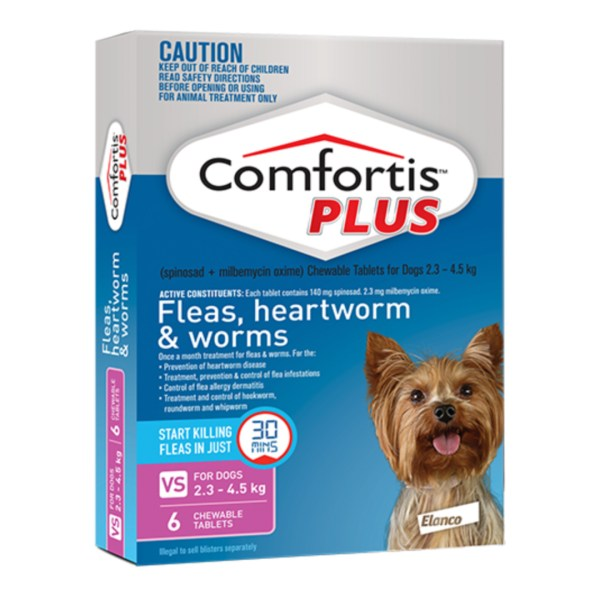 Comfortis PLUS Very Small Dog 6 Pack
