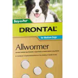 Drontal Medium Dog
