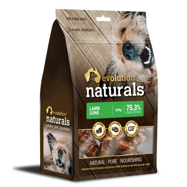Naturals Lamb Lung 200g