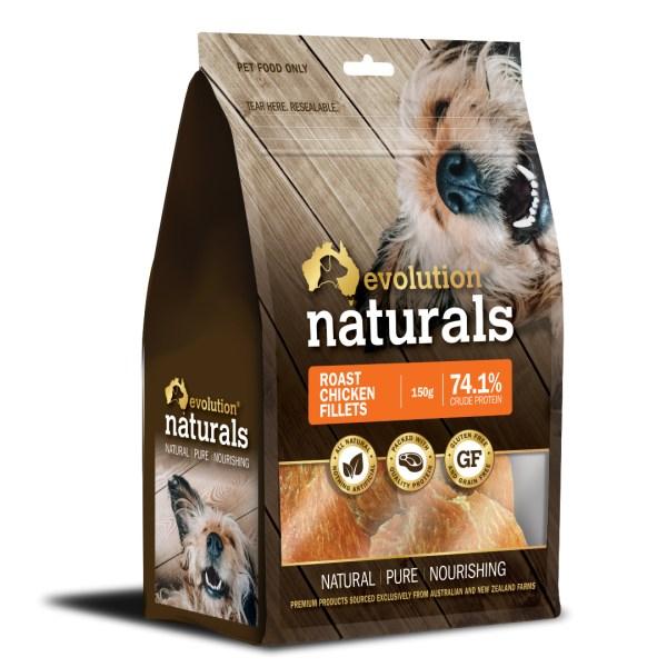 Naturals Roast Chicken Fillets 150g