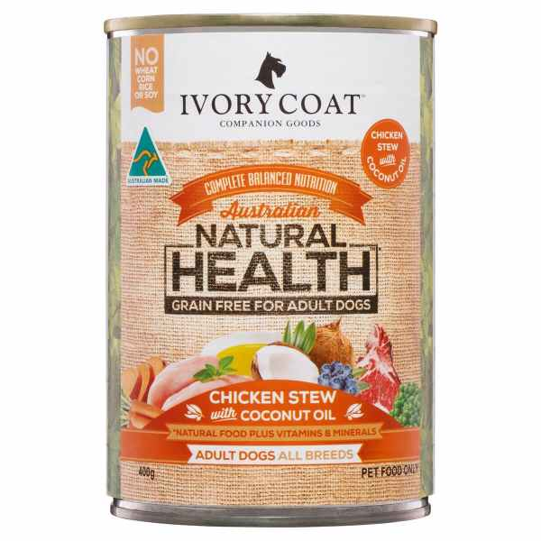 Ivory Coat Chicken Stew with Coconut Oil 400g