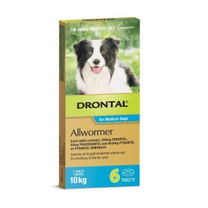 drontal blue for 10 kg dogs