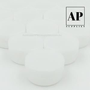 Aftercare Jars 5ml – Empty White Colour (50 pcs)