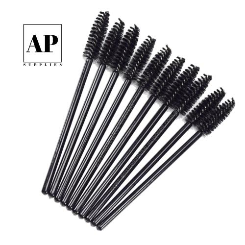 Disposable Mascara Wands – Black (50 pcs)
