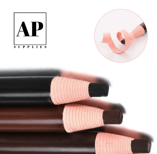 Waterproof No-Sharpen Eyebrow Pencil – Brown