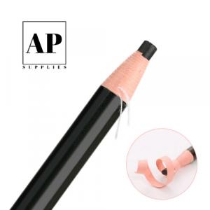 Waterproof No-Sharpen Eyebrow Pencil – Black