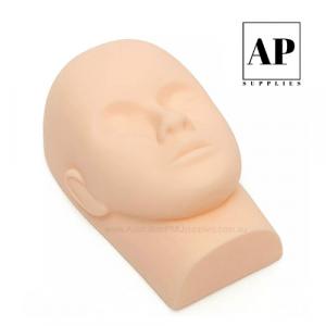 Soft Silicone Mannequin Head