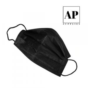 Disposable Face Mask – Black (50/500/1000)