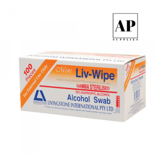Alcohol Swabs – Sterile (100 pcs)