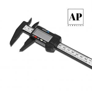 Premium Digital Caliper – Carbon Fiber Composite (with Battery)