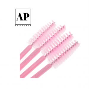 Disposable Mascara Wands – Pink (50 pcs)