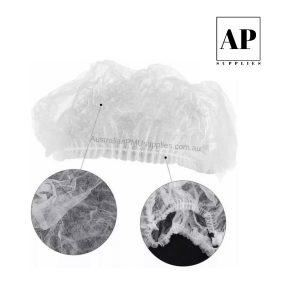 Disposable Hair Cap – White (100 pcs)