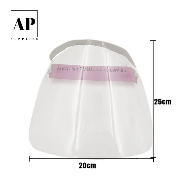 Clear Face Shield Mask Full Face Cover Washable Reusable