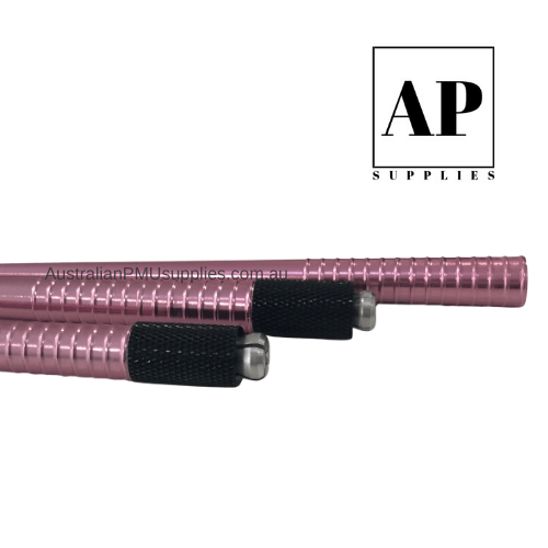 Microblading Manual Hand Tool Cross Lock with Hole – Pink