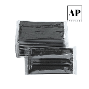 Individually Wrapped Disposable Face Mask – Black (Single/10/50/500)