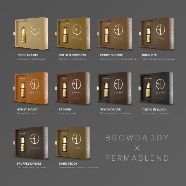 browdaddy gold collection singles permablend