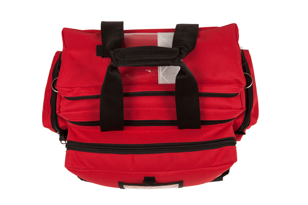 Red First Aid Trauma Bag Australian Safety Products