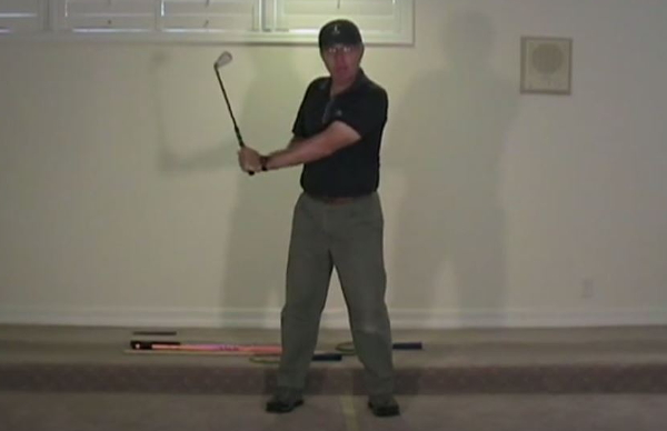 A perfect swing for older inflexible golfers?