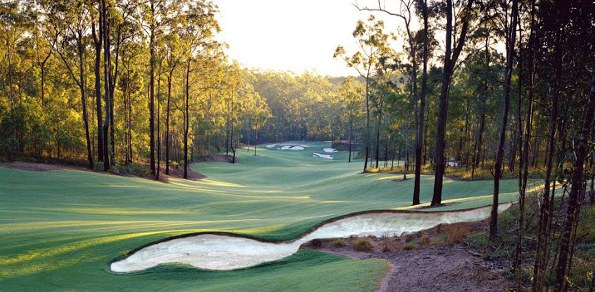 The lovely Brookwater Golf and Country Club