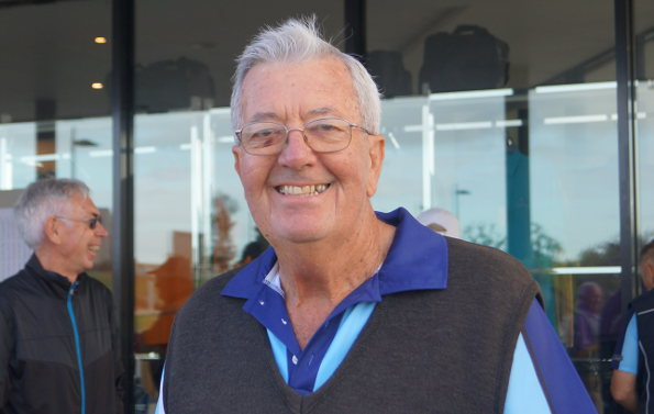 NSW Strokeplay Championship Tournament Director Les Knox … thrilled with the support