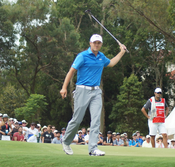Jordan Spieth will be back at The Australian Golf Club to defend his Stonehaven Cup title in November