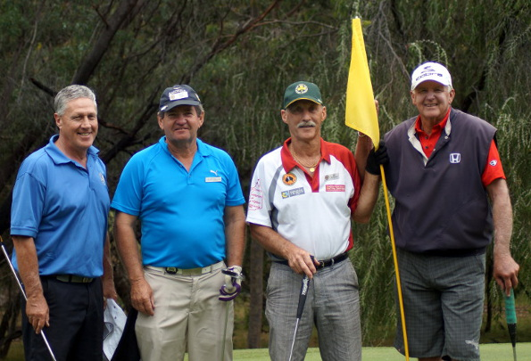 Veteran Golfers participating in the 2014 AVGU National Championships in south western Western Australia