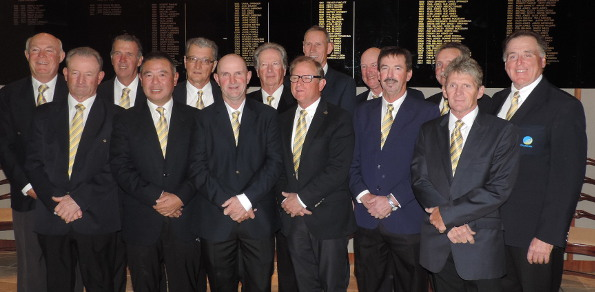 The Australian Senior Amateur squad