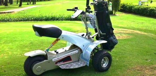 FourStar Golf Cruiser … now an even better way to get around the course