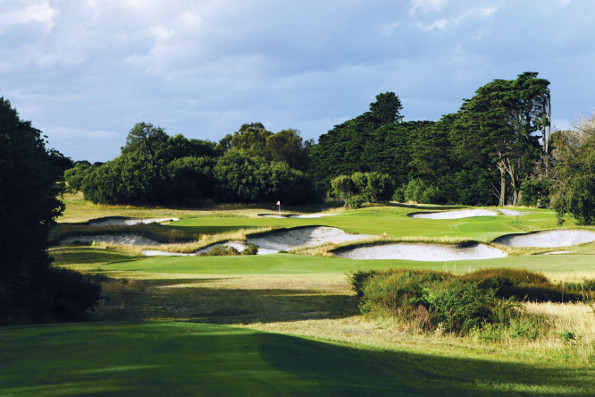 Top of the pile ... Royal Melbourne is always a sought after venue