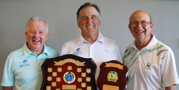 Denis Dale shows his class with strong 2016 NSW Veteran strokeplay win