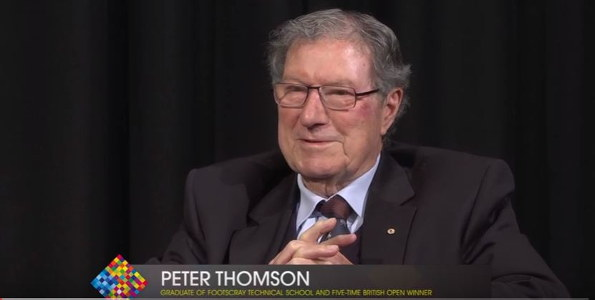 Peter Thomson interview 595