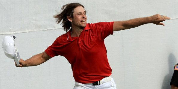 Aaron Baddeley win 2016