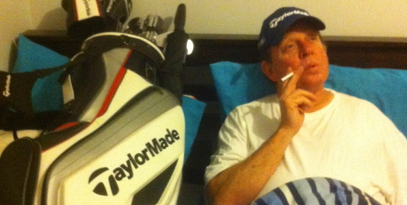 When a (not so) young man's thoughts turn to …. golf clubs