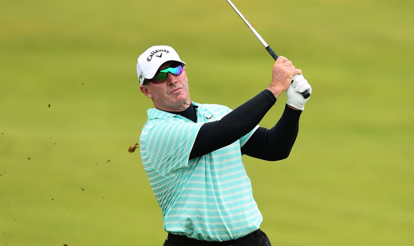 Peter Lonard outright 3rd going into Senior British Open final round