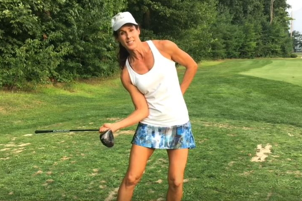 Trail Elbow Leads Way to More Distance: Golf Tip