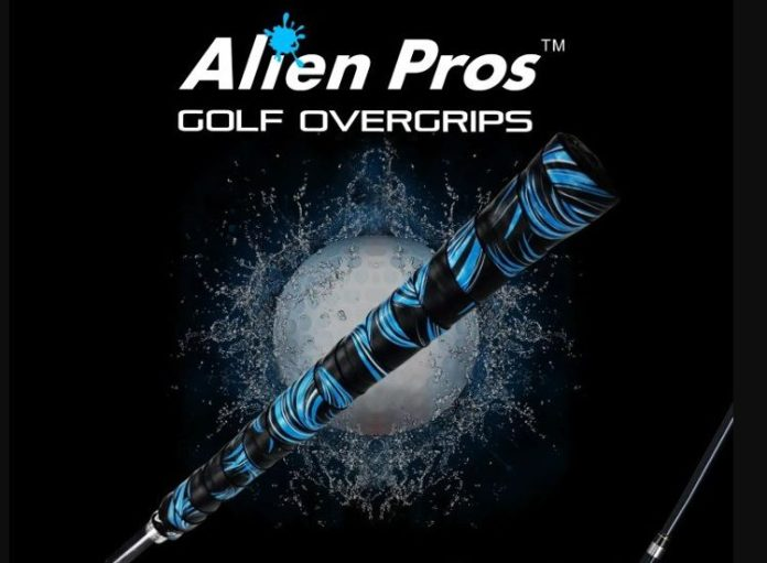 Alien Pros Golf Overgrips Review: Liven up your game with these great feeling, functional, low cost golf club grips