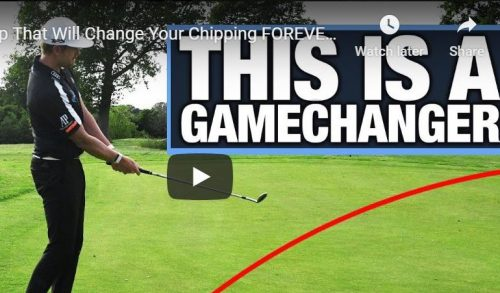"One Golf Tip ""That Will Change Your Chipping FOREVER!"""