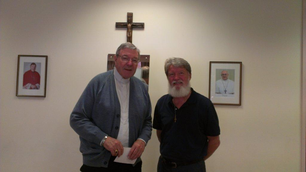 91 - Fr Pedro with George Cardinal Pell