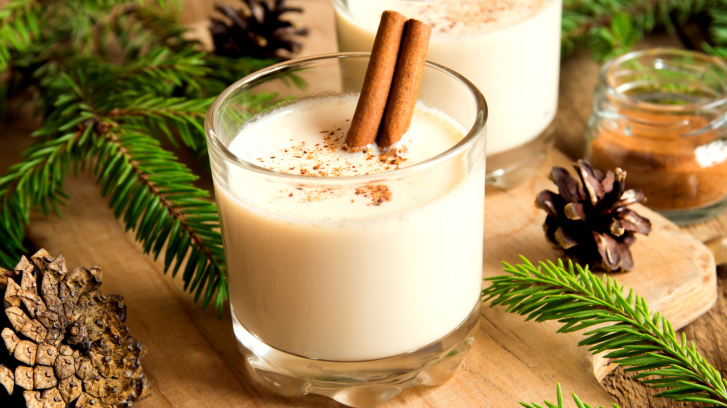Free Healthy Eggnog with Cinnamon Recipe